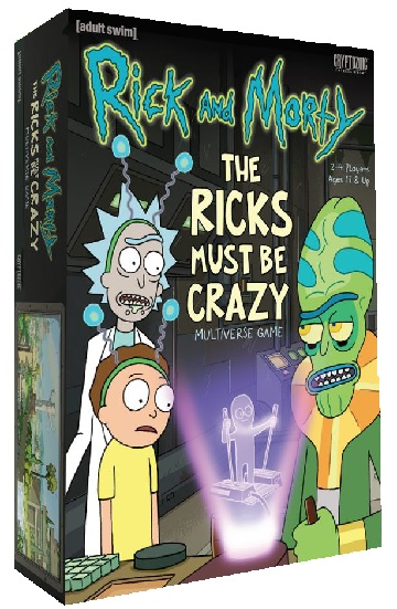 Rick And Morty -The Ricks Must be Crazy [DAMAGED]
