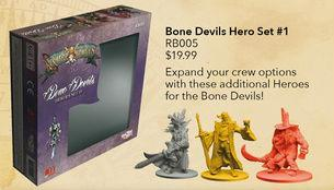 RUM & BONES: Bone Devils Hero Set #1 [SALE]