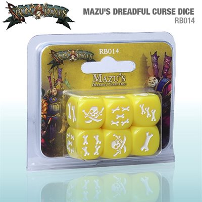 RUM & BONES: Mazus Dreadful Curse Dice (SALE)