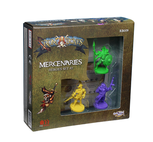 RUM & BONES: Mercenary Hero Set #2 [SALE]