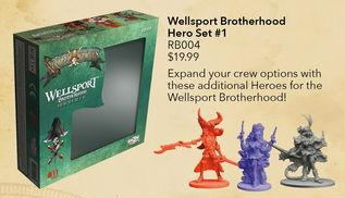 RUM & BONES: Wellsport Brotherhood Hero Set # 1 [SALE]