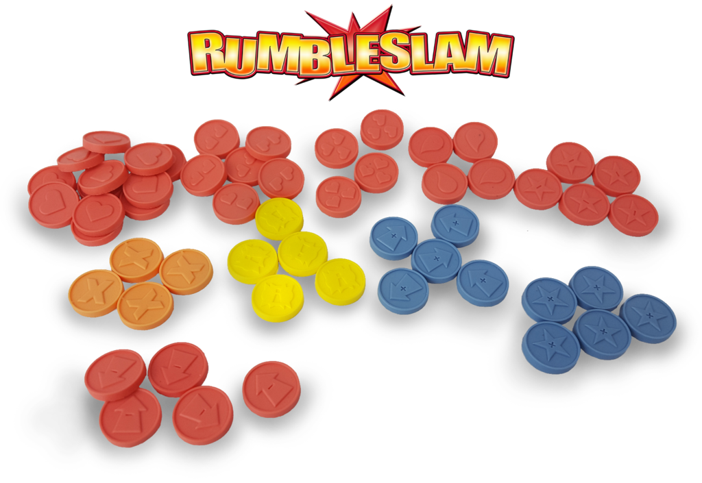 RUMBLESLAM: Deluxe Counters and Tokens