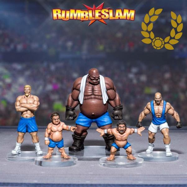 RUMBLESLAM: Teams- The Heavy Pounders