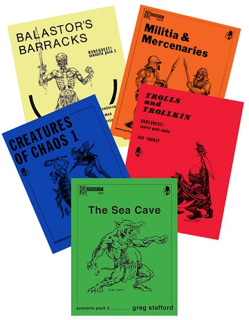 RUNEQUEST: Old School Resource Pack