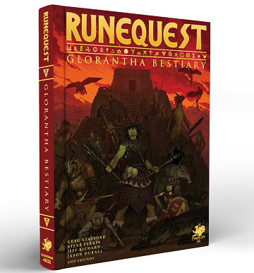 RUNEQUEST: ROLEPLAYING IN GLORANTHA BESTIARY