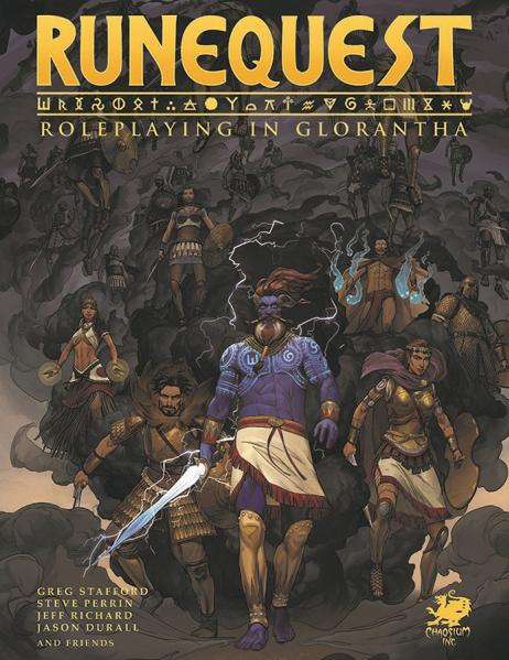 RUNEQUEST: ROLEPLAYING IN GLORANTHA- Core Rulebook