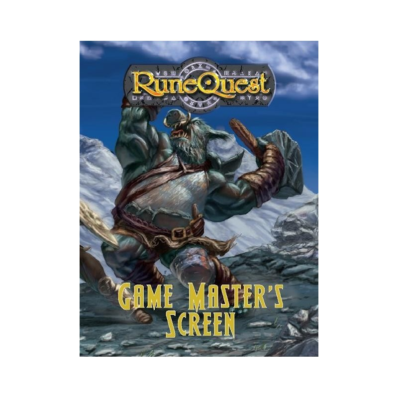 RUNEQUEST: ROLEPLAYING IN GLORANTHA  GAMEMASTER SCREEN PACK