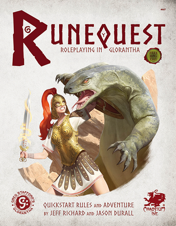 RUNEQUEST: ROLEPLAYING IN GLORANTHA : Quick Start