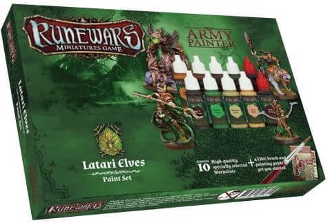 RUNEWARS LATARI ELVES PAINT SET
