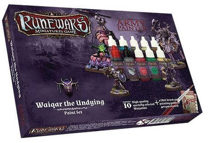 RUNEWARS WAIQAR UNDYING PAINT SET