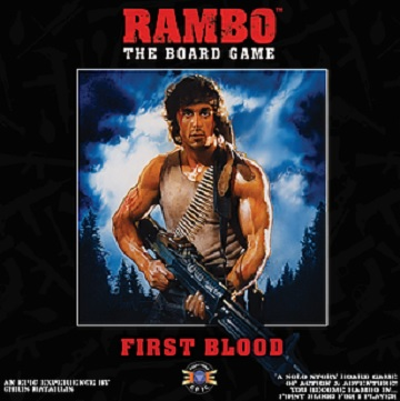 Rambo: The Board Game- First Blood