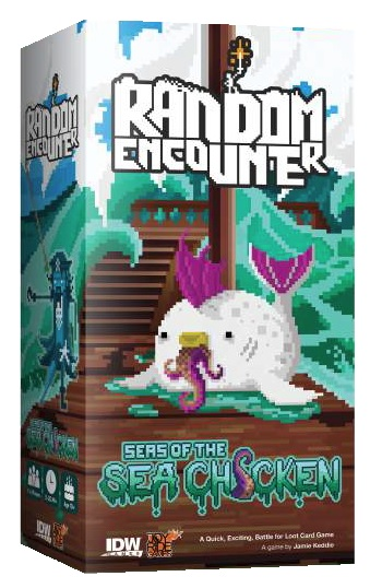 Random Encounter: Seas Of The Sea Chicken (Damaged)
