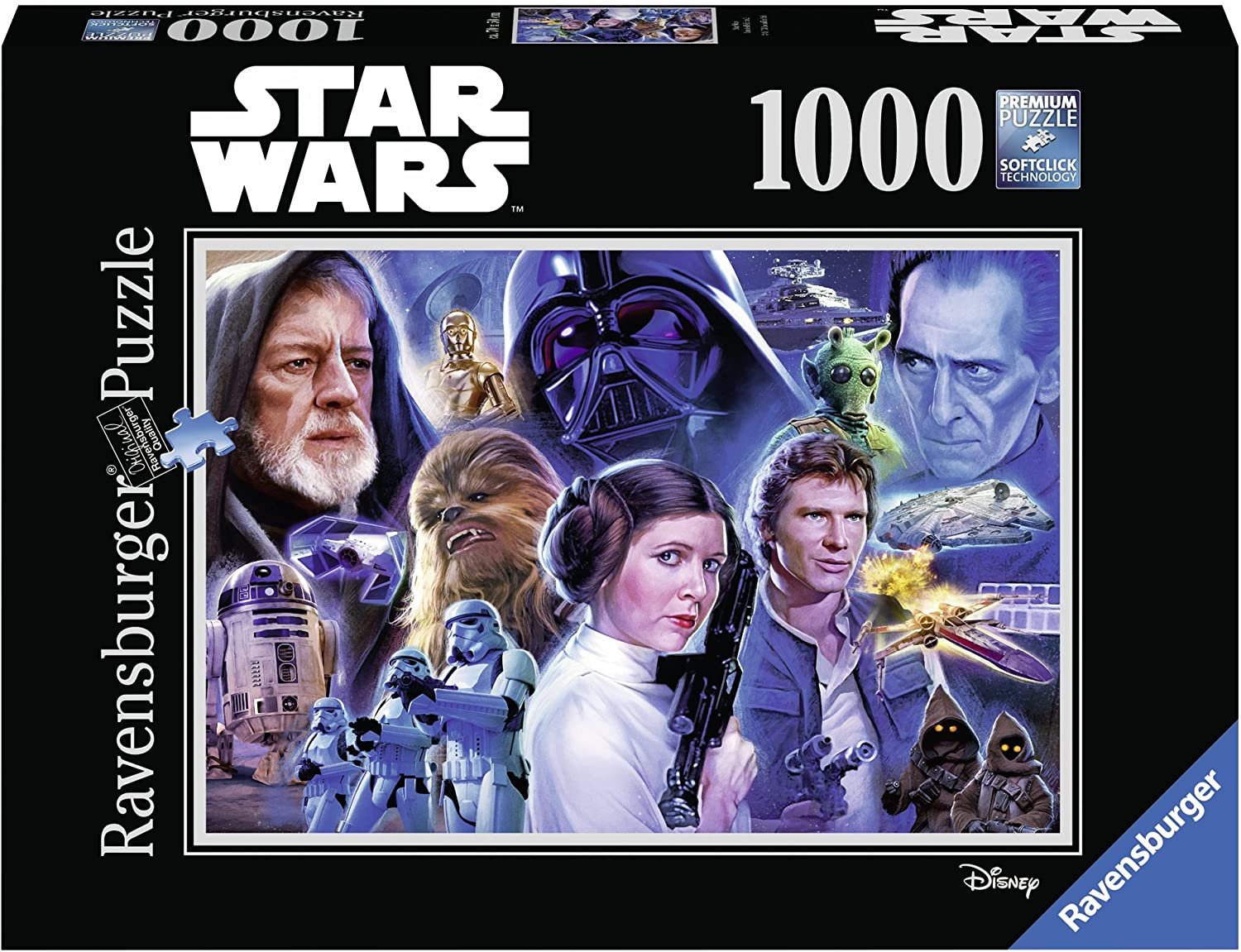Ravensburger Puzzles (1000): Star Wars- Collection 1