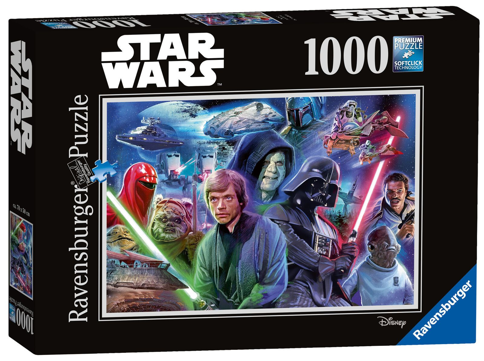 Ravensburger Puzzles (1000): Star Wars- Collection 3