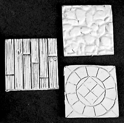 Reaper Bases: 1 Square Metal Scenic Bases (4)