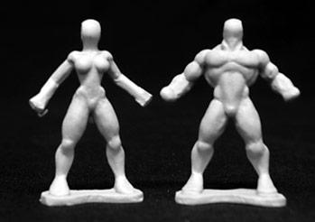 Reaper: Heroic Sculpting Blanks (4)