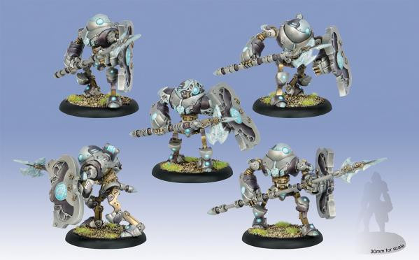 Warmachine: Convergence of Cyriss (36011): Reciprocators