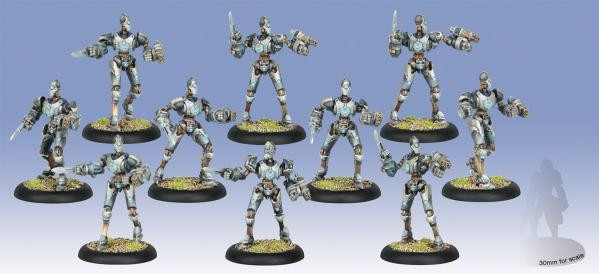 Warmachine: Convergence of Cyriss (36006): Reductors