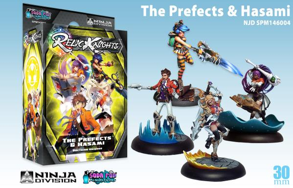 Relic Knights Doctrine: The Prefects & Hasami