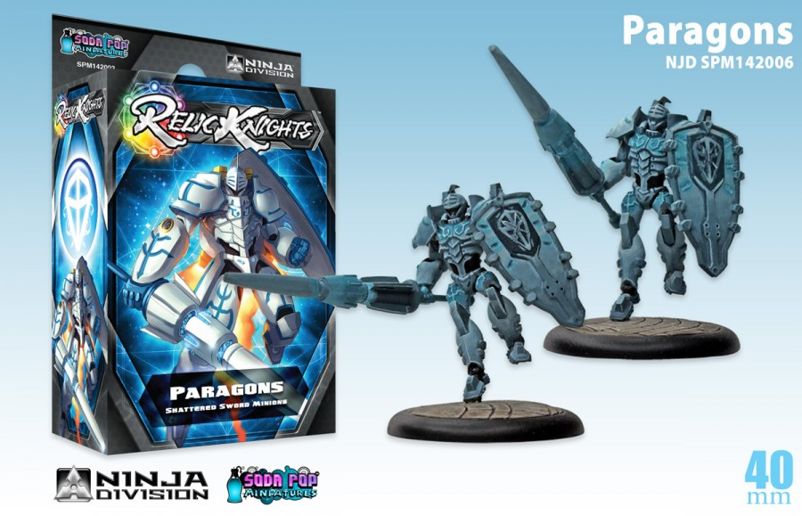 Relic Knights Shattered Sword: Paragons