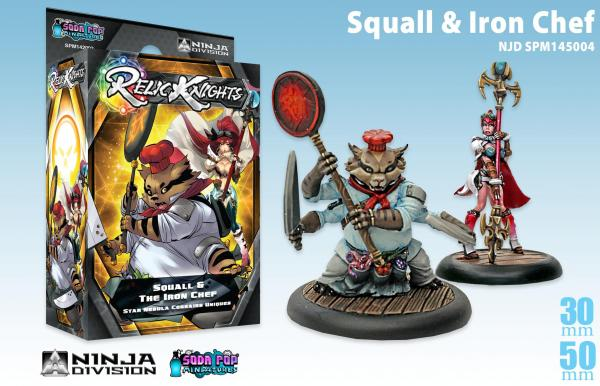 Relic Knights Star Nebula Corsairs: Squall & the Iron Chef