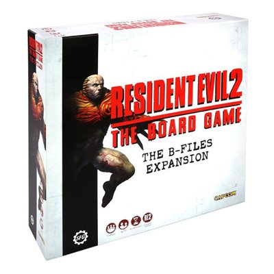 Steam Forge Games - Resident Evil 2: The Board Game- B-Files #SFRE2
