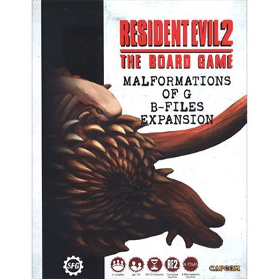 Resident Evil 2: The Board Game- Malformations of G B-Files