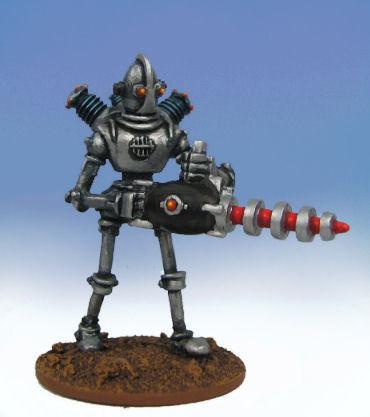 Hydra Miniatures - Retro Raygun: Robot Legion- Heavy Support
