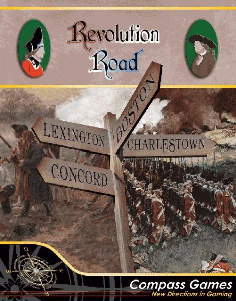 Revolution Road: Boston, Charlestown, Concord & Lexington