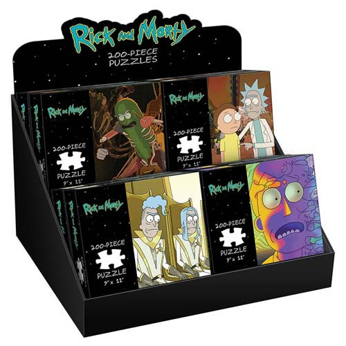 Rick and Morty: 200 Piece Puzzle - Rickmancing The Stone
