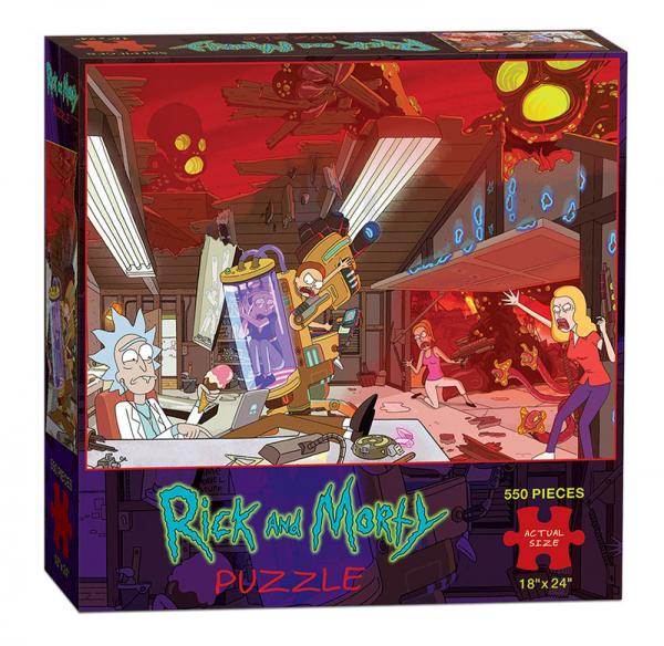 Rick and Morty (550 Piece Puzzle)