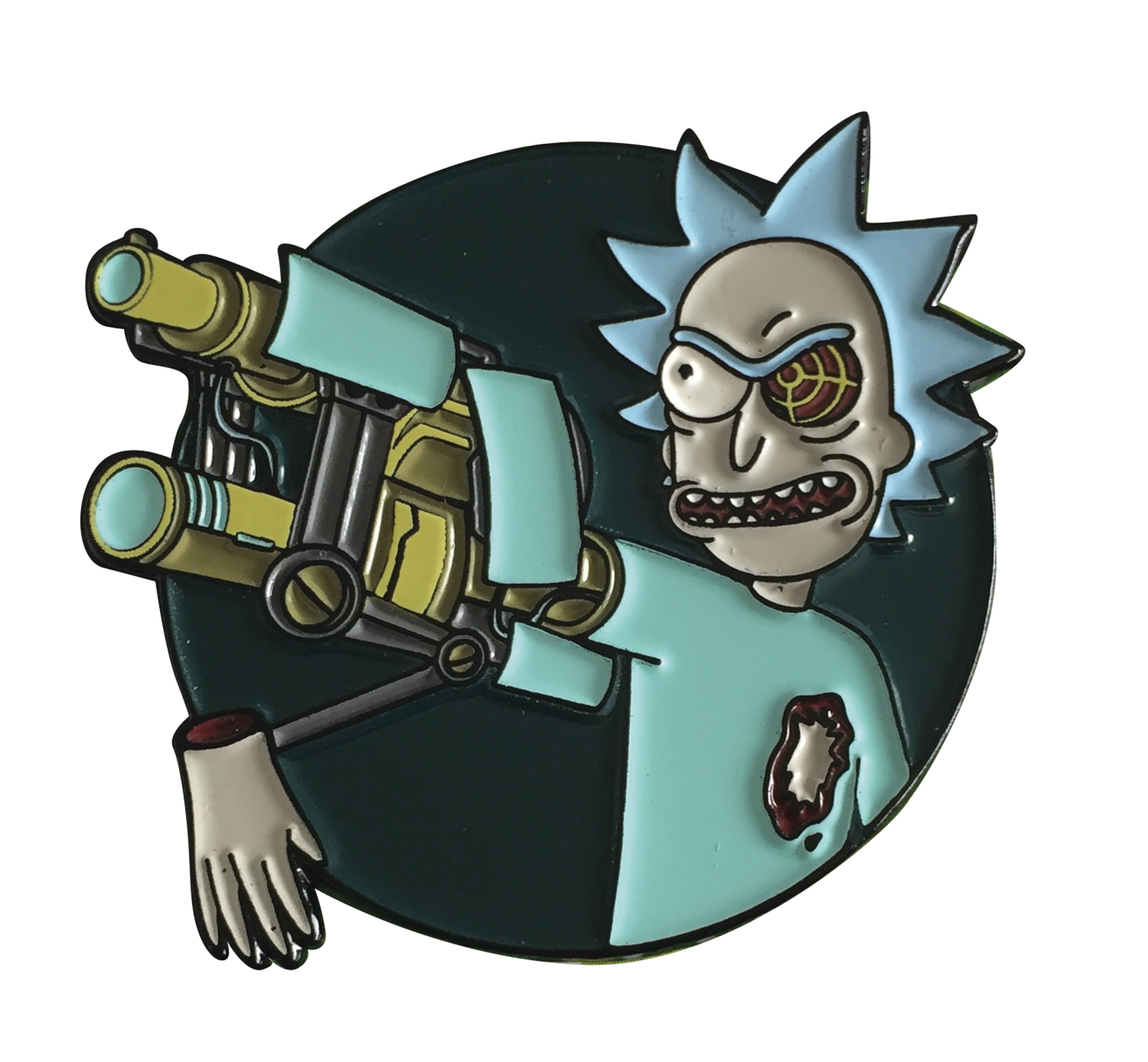 Rick and Morty: BIONIC ARM RICK LAPEL PIN