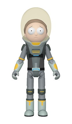 Rick and Morty - Morty in Space Suit Action Figure
