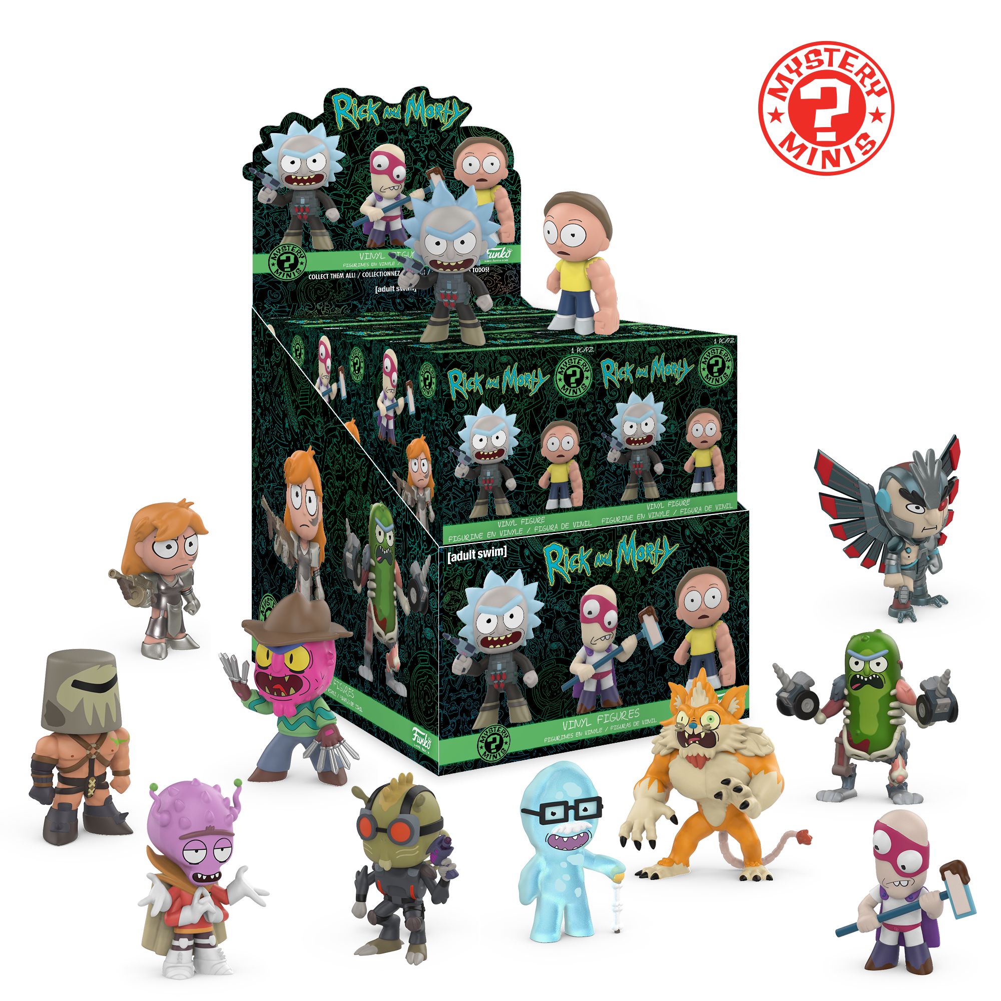 Rick and Morty: Mystery Minis 2
