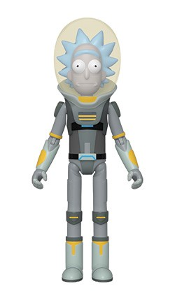 Rick and Morty - Rick in Space Suit Action Figure