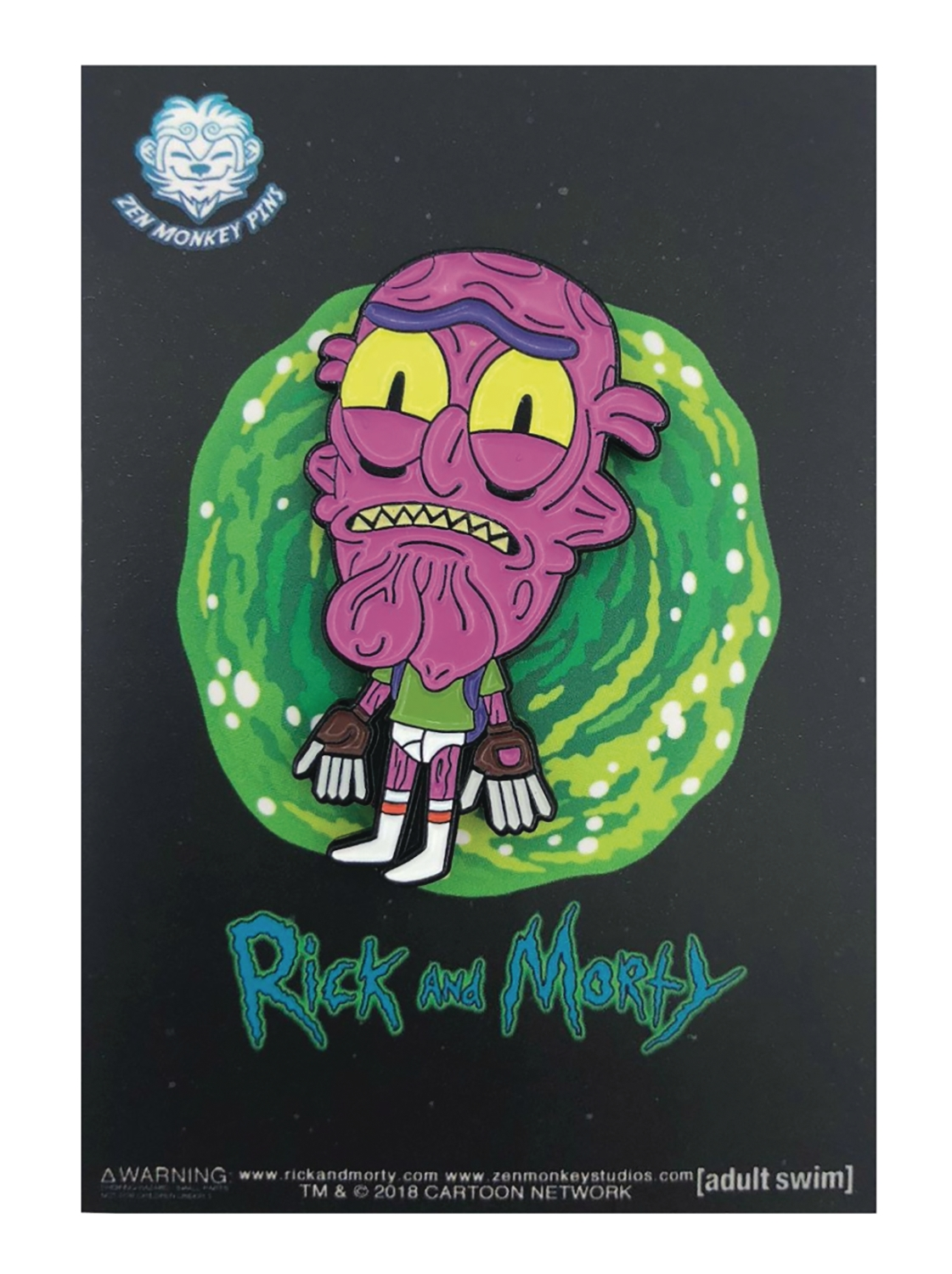 Rick and Morty: Scarry Terry in Undies Lapel Pin