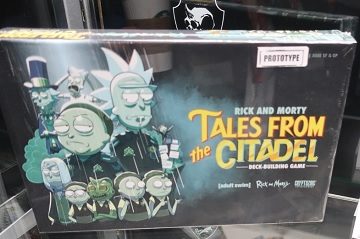 Rick and Morty: Tales from the Citadel Deck-Building Game