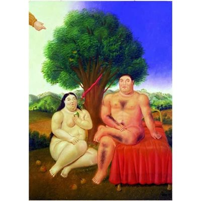 Ricordi Arte Puzzles: Adam And Eve