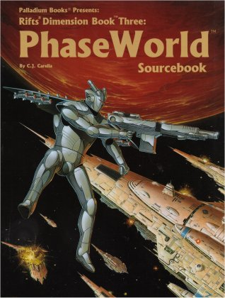 Rifts Dimension Book Three: Phaseworld Sourcebook