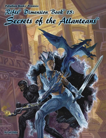 Rifts Dimensions Book 15: Secrets of the Atlanteans