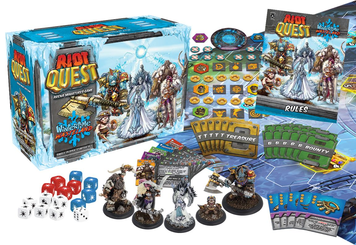 Riot Quest: WINTERTIME WASTELAND STARTER BOX