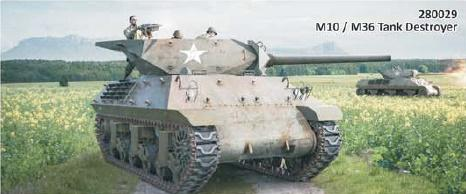 Rubicon Models (28mm): M10/M36 Tank Destroyer