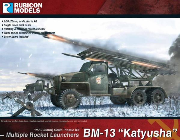 "Rubicon Models (28mm): Multiple Rocket Launchers BM-13 ""Katyusha"""