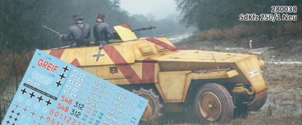 Rubicon Models (28mm): SdKfz 250/1 Neu