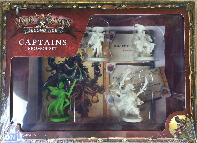 Rum & Bones- Second Tide: Captains Promos Set