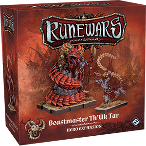 RuneWars Miniatures Game: Beastmaster ThUk Tar Hero Expansion