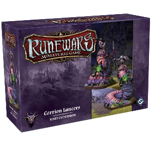 RuneWars Miniatures Game: Carrion Lancers [SALE]