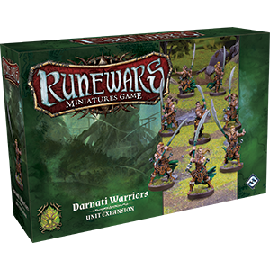 RuneWars Miniatures Game: Darnati Warriors Unit Expansion