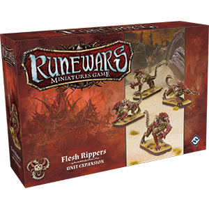 RuneWars Miniatures Game: Flesh Rippers Expansion