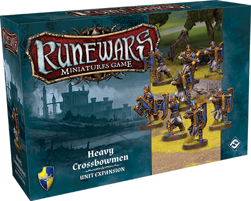 RuneWars Miniatures Game: Heavy Crossbowmen